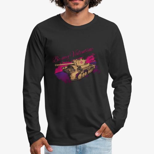 Be my Valentine Tank - Männer Premium Langarmshirt