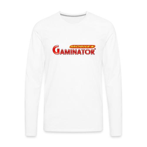 Gaminator logo - Men's Premium Longsleeve Shirt