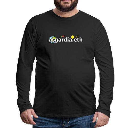 asgardia.eth - Männer Premium Langarmshirt
