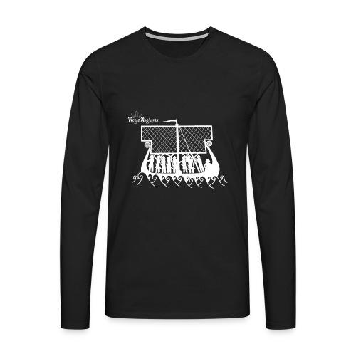 Regia TShirt Boat Clearbackground 2 White - Men's Premium Longsleeve Shirt