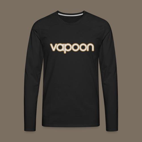 Vapoon Logo simpel 2 Farb - Männer Premium Langarmshirt