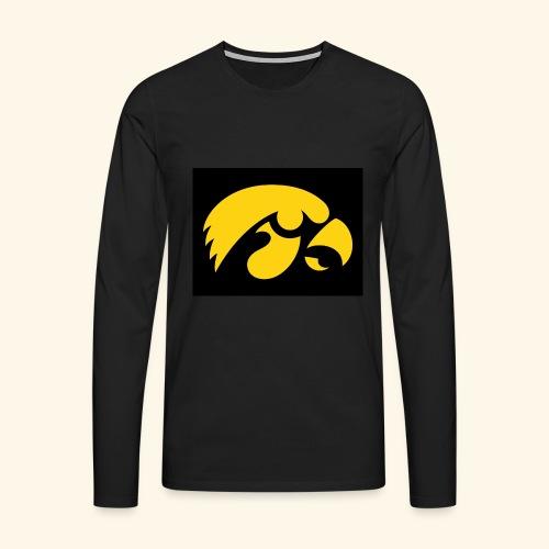 YellowHawk shirt - Mannen Premium shirt met lange mouwen