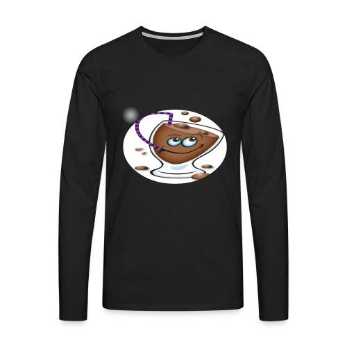 chocolate - Herre premium T-shirt med lange ærmer