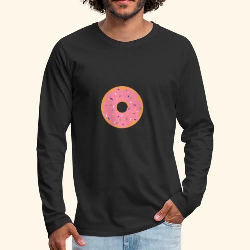 Donut-Shirt - Männer Premium Langarmshirt