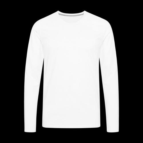 vitesse (blanc) - T-shirt manches longues Premium Homme