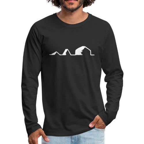 Schwarzzeltevolution - Männer Premium Langarmshirt