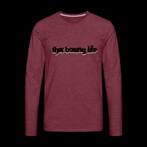 MTS92 THAI BOXING LIFE - T-shirt manches longues Premium Homme