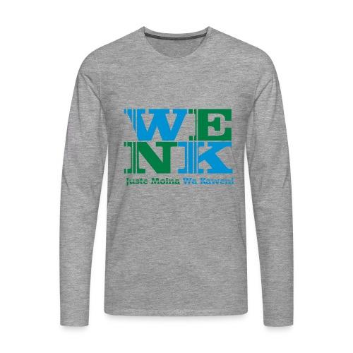 WENK - T-shirt manches longues Premium Homme