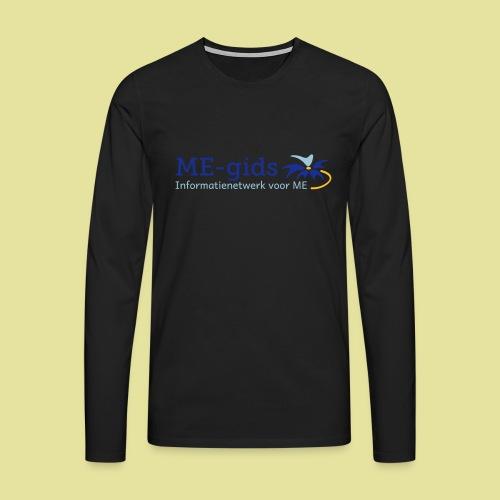 logomegids - Mannen Premium shirt met lange mouwen