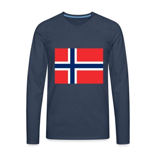 DixieMertch - Premium langermet T-skjorte for menn