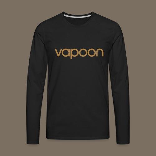 Vapoon Logo simpel 01 - Männer Premium Langarmshirt