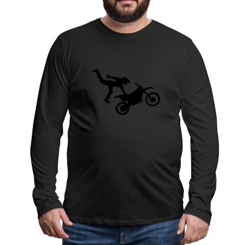 Moto Freestyle - T-shirt manches longues Premium Homme
