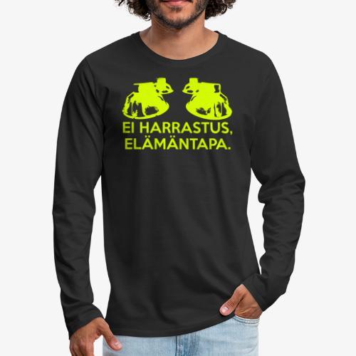 Ei harrastus elämäntapa - Men's Premium Longsleeve Shirt