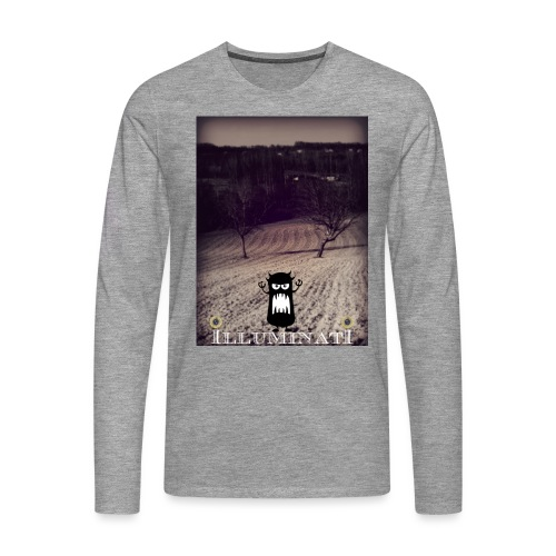 illuminati - T-shirt manches longues Premium Homme