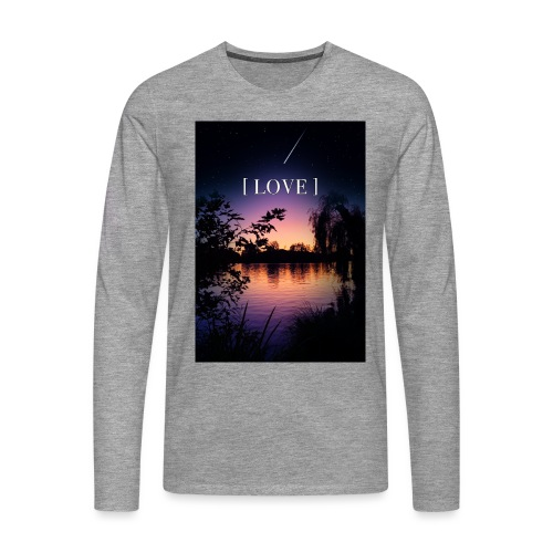 LOVE 07/07 - T-shirt manches longues Premium Homme