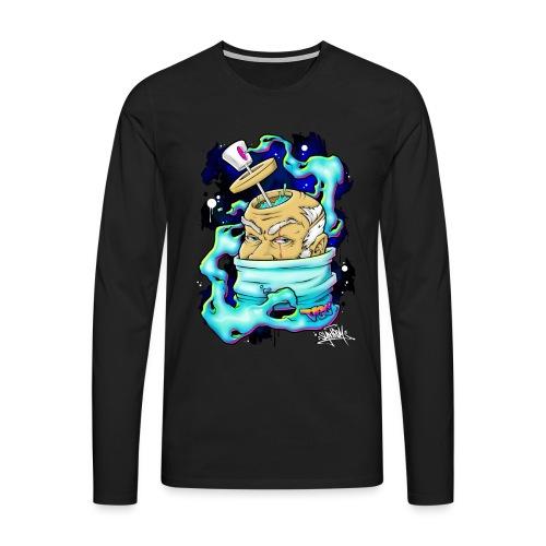Spray Genius - Graffiti character design - T-shirt manches longues Premium Homme