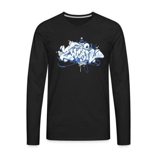 2Wear Graffiti style - 2wear Classics - Herre premium T-shirt med lange ærmer