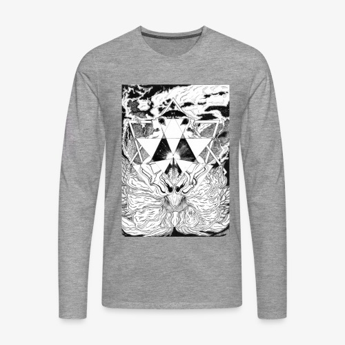 Primal Ordeal by Rivinoya - Miesten premium pitkähihainen t-paita