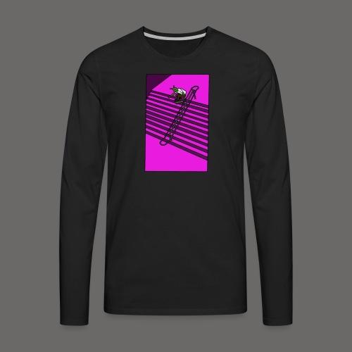 pink gravel - Men's Premium Longsleeve Shirt