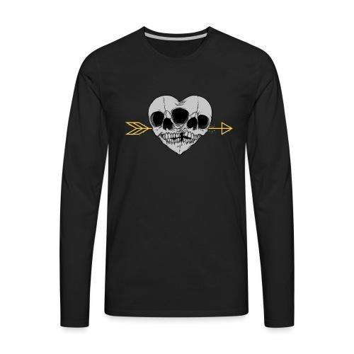 I LOVE MY TWIN - Koszulka męska Premium z długim rękawem