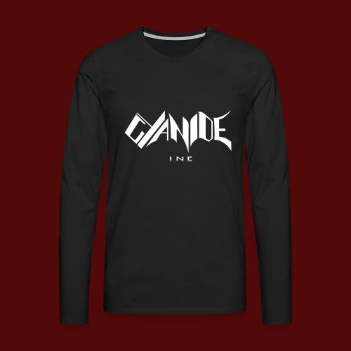 Logo Cyanide Inc - T-shirt manches longues Premium Homme