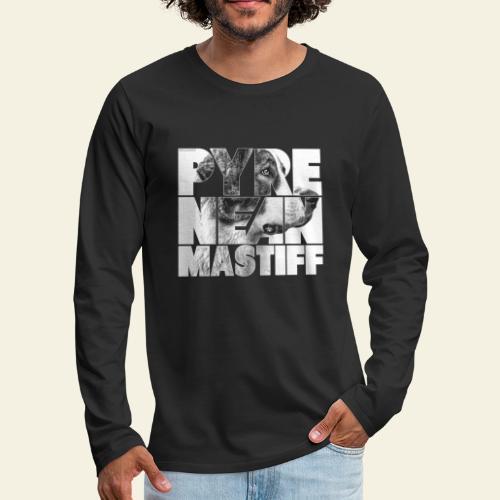 Pyrenean Mastiff N - Miesten premium pitkähihainen t-paita