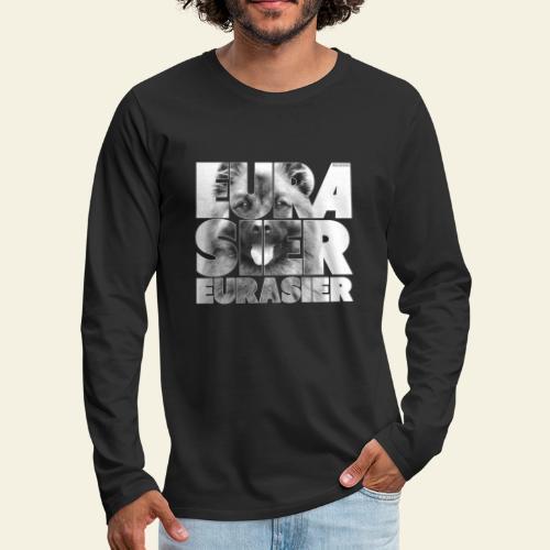Eurasier II - Miesten premium pitkähihainen t-paita
