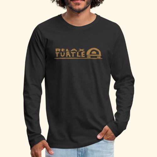 relax-turtle - Männer Premium Langarmshirt