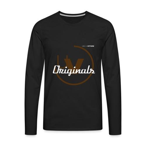 U&V Originals BR - Men's Premium Longsleeve Shirt