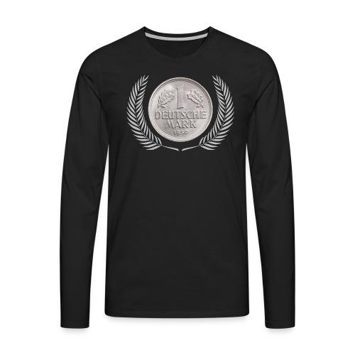 DM Deutsche Mark - Männer Premium Langarmshirt