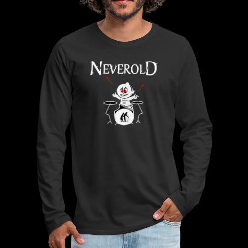 LOGO NEVEROLD - T-shirt manches longues Premium Homme
