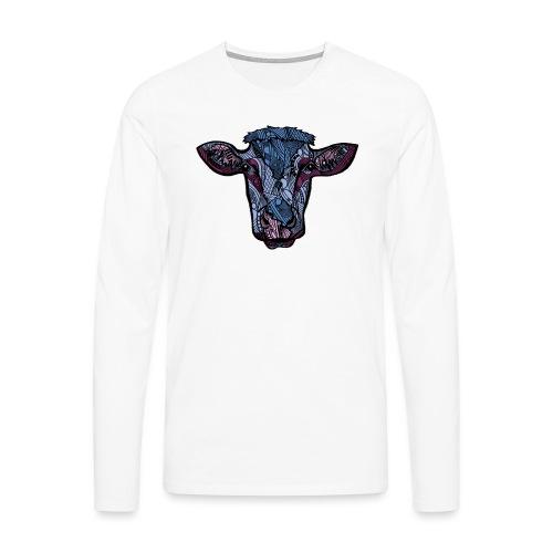 Ku - Premium langermet T-skjorte for menn