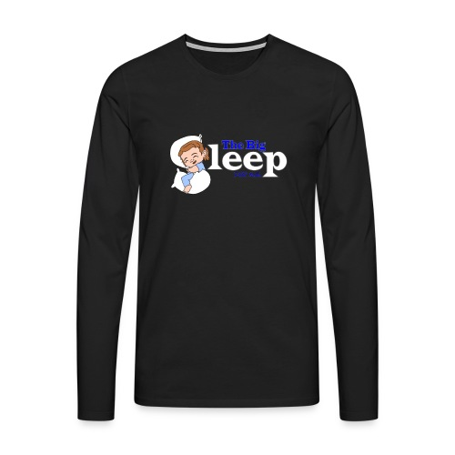 The Big Sleep for ME Blue - Men's Premium Longsleeve Shirt