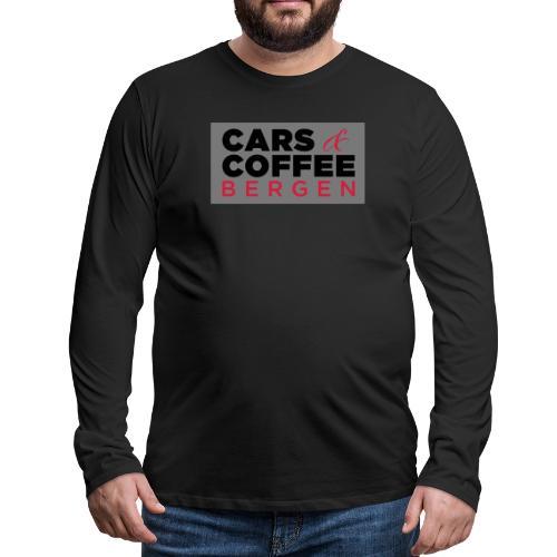 Carsandcoffee - Premium langermet T-skjorte for menn