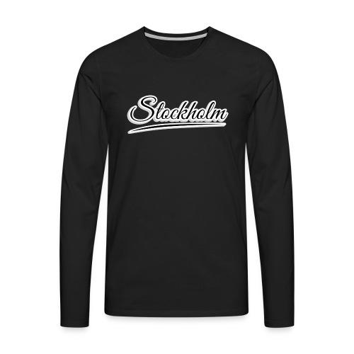 stockholm - Men's Premium Longsleeve Shirt