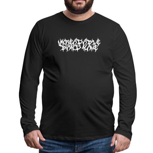UNREADABLE BAND NAME - Men's Premium Longsleeve Shirt