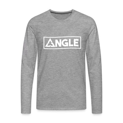 Angle Brand - Maglietta Premium a manica lunga da uomo