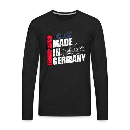 Global Fireworks Knaller - Männer Premium Langarmshirt