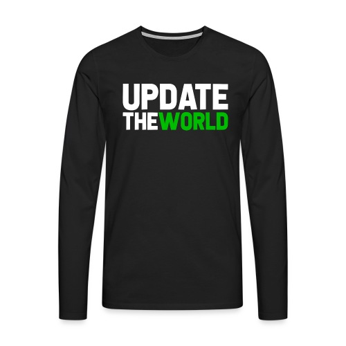 Update The World - T-shirt manches longues Premium Homme