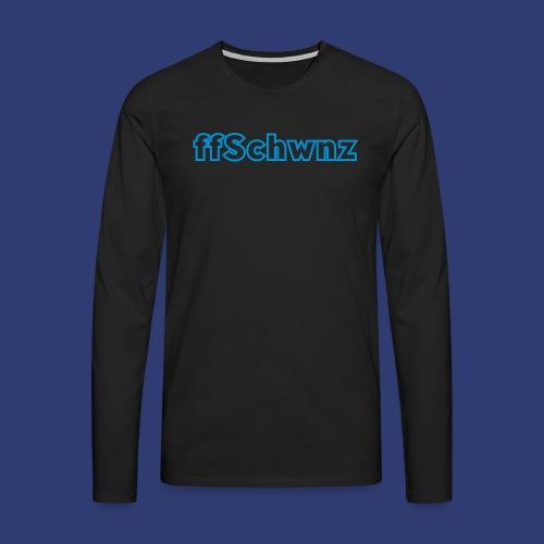 ffschwnz - Mannen Premium shirt met lange mouwen