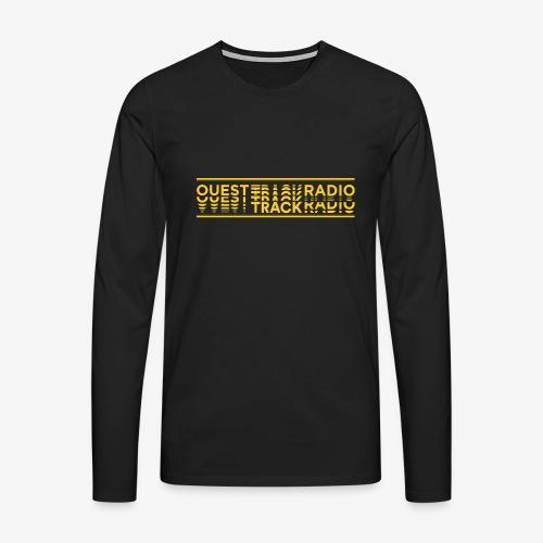 Logo Long jaune - T-shirt manches longues Premium Homme