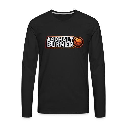 Asphalt Burner - for streetball players - Men's Premium Longsleeve Shirt