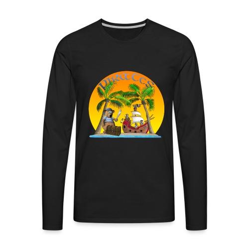 Piraten - Schatz - Männer Premium Langarmshirt