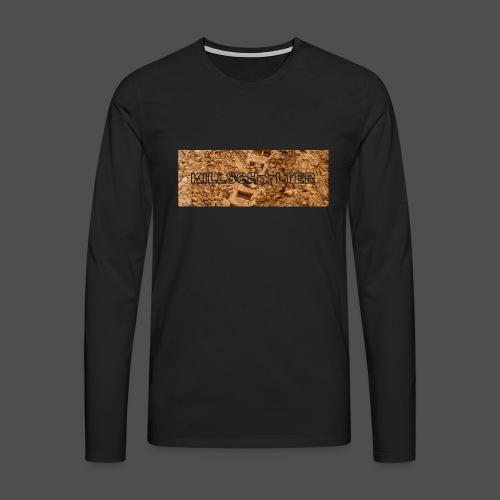 KILLSCHALTER Track - Koszulka męska Premium z długim rękawem