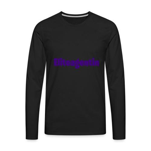Eliteagentin - Männer Premium Langarmshirt