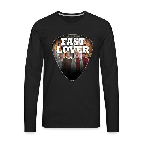 Fast Lover Pick - Männer Premium Langarmshirt