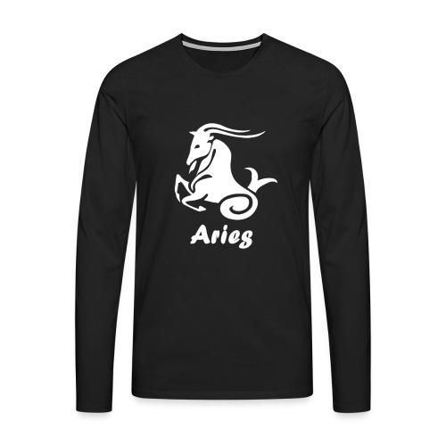Bélier - T-shirt manches longues Premium Homme