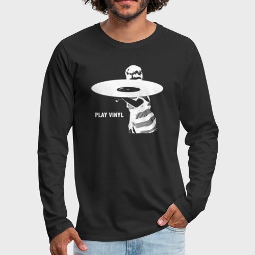 T-Record - Play Vinyl - Mannen Premium shirt met lange mouwen