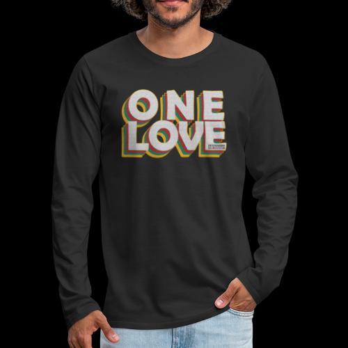 ONE LOVE - Männer Premium Langarmshirt
