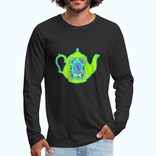 Wonders & Madness Tea Party - Men's Premium Longsleeve Shirt